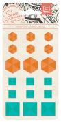 Basic Grey Spice Market Coloured Studs Scrapbook Embellishments