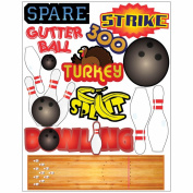 Themed Die Cut Assortment-Bowling