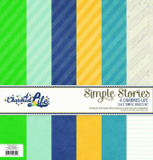 Simple Stories A Charmed Life Simple Basics Scrapbook Collection Kit