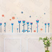 [Floral Land] Decorative Wall Stickers Appliques Decals Wall Decor Home Decor