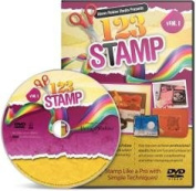 _123 STAMP Instructional DVD Stamping Tricks Techniques