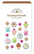 Sweet Treats Boutique Brads 18/Pkg-