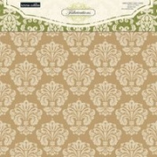 Teresa Collins Designs Fabrications Linen Chipboard Album Cover