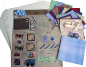 Eye-Lets Etc. AMZNMK3BOY 10cm by 10cm Mini Album Kit, Boy