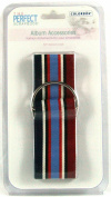 "The Perfect Scrapbook Album Accessories 80cm Ribbon Belt ""Americana"" Scrapbook Belt by Colorbok"