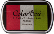 ColorBox Classic Pigment Multi-Colour Inkpads, Merry Merry