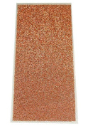 Metallic Copper - Press-On Crystal Shimmer Sheet - 15cm x 7cm - 1 Piece
