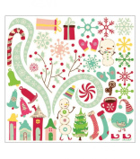 Jolly By Golly Ready-Set-Chip 12x12 Adhesive Chipboard