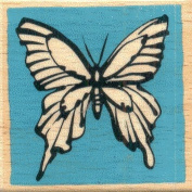 Butterfly Mounted Rubber Stamp - 5.1cm X 5.1cm