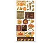 Debbie Mumm Harvest Scrapbook Stickers