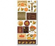Debbie Mumm Harvest Scrapbook Stickers