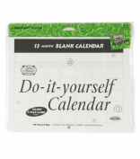 Do It Yourself Blank Calendar- 13 Months