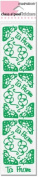 Holly Corners Green Class A'Peels Scrapbook Stickers