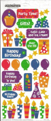 Birthday Party Scrapbook Stickers