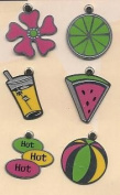 Summer Colour Lil' Charms for Scrapbooking