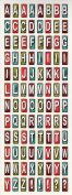 Road Trip Alphabet Scrapbook Stickers