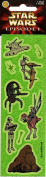 Star Wars Episode 1 Phantom Menace Characters Sparkle Scrapbook Stickers