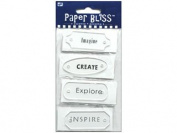 Westrim Paper Bliss Accents - Acrylic Labels 8