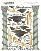 Graduation Congratulations Scrapbook Stickers