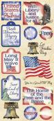 America Scrapbook Stickers