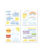 Sunny Weather Rub-ons for Scrapbooking
