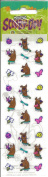 Scooby Doo Butterflies and Bugs Mini Scrapbook Stickers