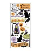 Creepy Halloween Scrapbook Stickers