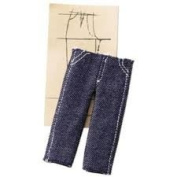 Pants Pattern Dimensional Embellishments for Scrapbooking
