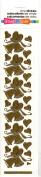 Wedding Bells Gold Class A'Peels Scrapbook Stickers