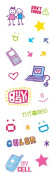 Sandylion Gem Stickers - Cell Phone Deco/Icons
