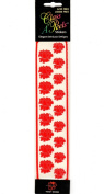 Red Roses Class A'Peels Scrapbook Stickers