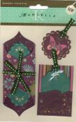 Sheri's Garden Memory Pockets Scrapbook Stickers