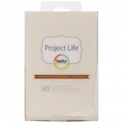 Project Life by Becky Higgins 4 x 6 Textured Cardstock