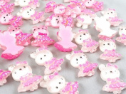 50pc Cute Little Girl Resin Flatback the Scrapbooking DIY Craft Applique Hot