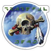 The Grateful Dead Cyclops Skull Sticker