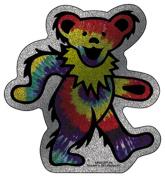 The Grateful Dead Dancing Bear Glitter Sticker