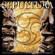 Sepultura Album Sticker