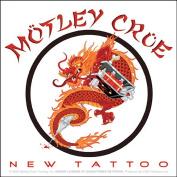 Motley Crue Chinese Dragon New Tattoo Logo Sticker