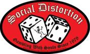 Social Distortion Dice Sticker