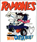 The Ramones Outta Here Sticker