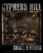 Cypress Hill Skull And Bones Sticker