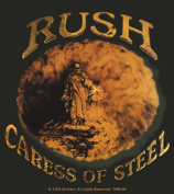 Rush Caress Of Steel Sticker