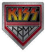 KISS Army Glitter Sticker