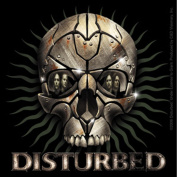 Disturbed Rust Skull Sticker