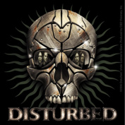 Disturbed Rust Skull Sticker