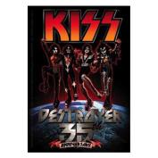 KISS Destroyer 35Th Anniversary Sticker