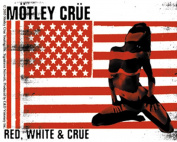Motley Crue Red, White & Crue Sticker