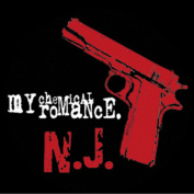 My Chemical Romance Pistol Sticker