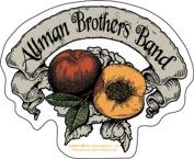 Allman Brothers Peach Bannersticker