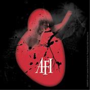 AFI Shattered Heart Logo Sticker